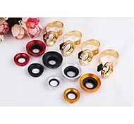 Universal Metal C-Clip 2n1 0.67X Wide Angle+10X Macro Camera Lens for iPhone HTC Samsung Sony etc.