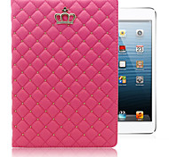 The New Diamond-Studded Crown PU Leather Tablet Protective Holster for Ipad 5 (Assorted Colors)