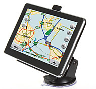 New 7 Inch Auto Car Truck GPS Navigation 4GB Map Sat Navi WinCE 6.0 FM Mp3 Mp4(Within the map of Europe)