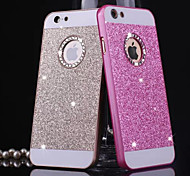 BIG D Metal Bling Pattern Back Cover for iPhone 4/4S(Assorted Color)