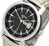 Uhr-Männer Leder-Quarz-Armbanduhr