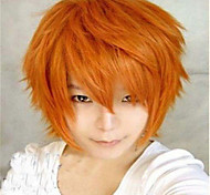 Fashion Color Cartoon Colored Wigs Masquerade Dedicated Short Smoke  Orange Wig