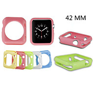 Solid Color TPU Frame Case for Apple iWatch 42mm