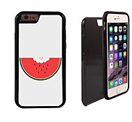 Lovely Watermelon Pattern 2 in 1 Hybrid Armor Full-Body Dual Layer Shock-Protector Slim Case for iPhone 6 Plus