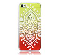 magia spider®lantern ultra-TPU pintura fina caso de volta com protetor de tela para iphone5s iPhone5 (cores sortidas)