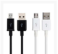 1M/3FT Micro USB to USB 2.0 Data Sync Charger Cable for Samsung Galaxy S3 S4 S5 HTC Android Phone