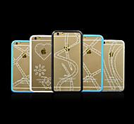 tpu Punktbohrer Serie Telefonkasten für iphone 6 (Farbe sortiert)