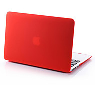 2 in 1 Candy Colors Soft Touch Plastic Hard Case Cover & Keyboard Cover for Apple Macbook Air 11''(Assorted Color)