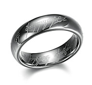 """The One Ring"" Style Titanium Steel Ring - Silver (U.S Size: 11)"