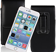 Europe and the United States fei PU Open Waist Hanged Mobile phone Set up and Down for iPhone6