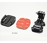 J-Hook Buckle Flat Mount with 3M sticker, for GoPro Hero3+/3/2/1