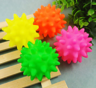 Dog Pet Toys Ball / Chew Toy Thrust Random Color Rubber