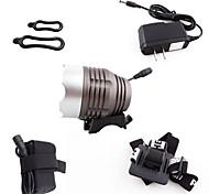 lampe de poche t6 / U2 lampes à led L2 cyclables 1200lm 4x18650 ensemble