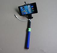 Top-Qualität erweiterbar per Kabel selfie Stick Handheld Einbeinstativ für iphone Samsung
