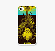Totoro Pattern PC Phone Case Back Cover Case for Apple iPhone5/5s