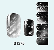 14PCS Nail Art Stickers A Series S1275