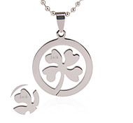 Personalized Jewelry Stainless Steel  Silver Necklaces