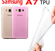 Through Color TPU Case for Samsung A7