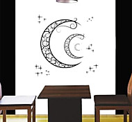 Fashion Crescent Moon PVC Wall Stickers Wall Art Decals
