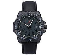 relógios novos homens de design de moda de couro relógios de pulso de quartzo homens japão movimento moda relógios desportivos-lx004