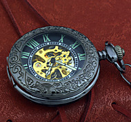 Men's Retro Automatic Mechanical Pocket Watch Brand New Self Wind Auto Watch