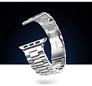 ремешок для яблочного iwatch, ремешок для часов iwith разъем для яблока iwatch, металла нержавеющей стали ремешок для часов для iwatch42mm