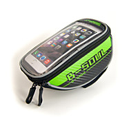 "Waterproof Bicycle Handlebar Bag for 5.5"" Cellphones"