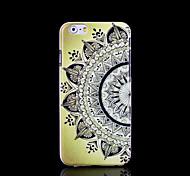 Aztec Mandala Flower Pattern Cover for iPhone 6 Plus Case