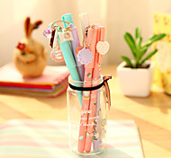 Lovely Girl Student Neutral Pen(Random Color)
