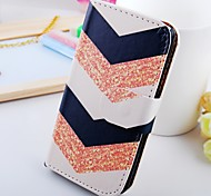 Fold Line Graph Pu Leather Case for Samsung Galaxy S2  I9100