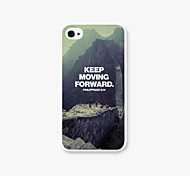 The Great Wall Scenery Pattern PC  phone case Back Cover Case for iPhone4/4S
