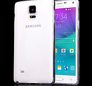 Import Silky TPU Material Package Design for Samsung Note 4 (Assorted Colors)