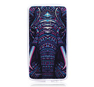 Elephant Pattern TPU Soft Back Cover Case for LG G3
