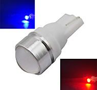 2 Stück Ding Yao Dekorativ Lichtdekoration T10 1.5 W 100-180 LM K 1 COB Kühles Weiß/Rot/Blau/Gelb/Grün DC 12 V