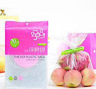 70pcs Quality Food Saver Vacuum Thicker Plastic Bag