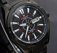 2015 Fashion Quartz Watches Men Full Steel Watch Top Brand Luxury Waterproof Military Sports Watches