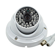 "Dome Security Camera 1/3"" CMOS 1000TVL HD CCTV Camera Waterproof 48 LED Infrared Video Surveillance Cameras System B05"