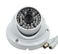 """câmera de segurança cúpula de 1/3 """"CMOS 1000tvl hd câmera à prova d'água CCTV 48 LED infravermelho de vigilância por vídeo b05 sistema de"""