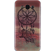 Dream Catcher Pattern Ultra Thin TPU Soft Back Cover Case for Samsung Galaxy E7