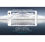 cristal nillkin filme protetor de tela anti-impressão digital clara para Sony Xperia c4