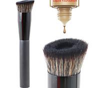 vela ângulo aperfeiçoar escova rosto fundação líquido pincel de maquiagem