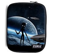 """pour u conçoit 10 """"série étoiles / extra-terrestre housse de portable pour iPad"""