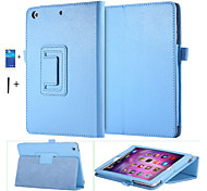 PU Leather Case for apple Ipad mini 1 2 3  Smart Stand Magnetic Sleep Wake UP Pouch Cover+Screen Protector+ Stylus