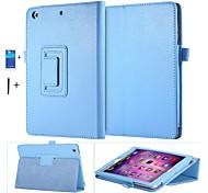 caja de cuero de la PU para Apple iPad Mini 1 2 3 soporte inteligente sueño magnético despertar cubierta de la bolsa + screen + stylus