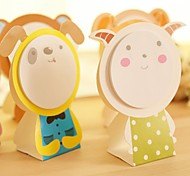 Cute Animal Face Style Self-Stick Note (Random Color)