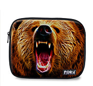"For U Designs 10"" Fire Series/Bear Laptop Sleeve Case for Ipad"