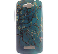 For Alcatel Case Pattern Case Back Cover Case Flower Soft TPU Alcatel
