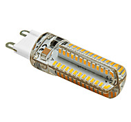 1 pcs G9 4W 104 SMD 3014 350 lm Warm White T LED Corn Lights AC 220-240 V