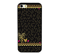Leopard Print Design Aluminum Hard Case for iPhone 5C