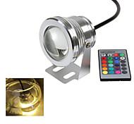 1 pieza Ding Yao 10 W 1 LED Integrado 1000-1200 LM Blanco Cálido/Blanco Fresco Control Remoto Focos DC 12 V